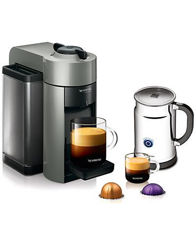 """Nespresso """"Evoluo"""" Machine & Aeroccino"""