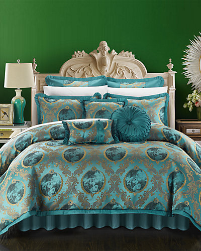 Capelli Jacquard Floral Comforter Set