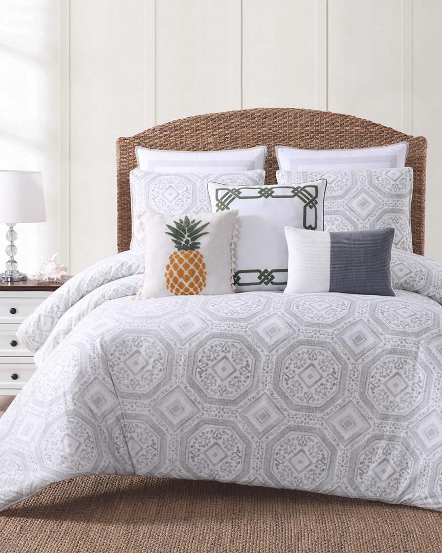 Oceanfront Resort Sunwashed Isle Gray Comforter Set (Home & Garden Linens & Bedding Bedding) photo