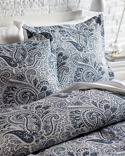 "Chooty & Co. ""Paisley"" Blue Duvet"