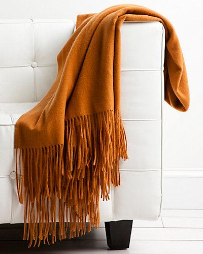 pür Signature Cashmere-Blend Copper Throw