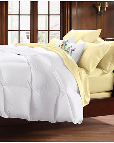 Coza by Cuddledown Lightweight White Goose Down Comforter