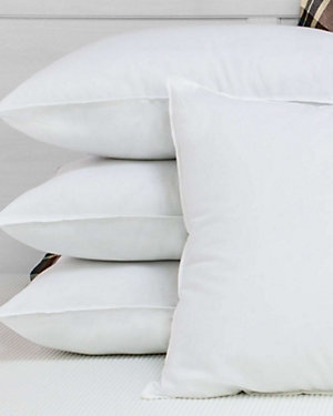 BioPEDIC Set of 4 Ultra-Fresh Antimicrobial Bed Pillows seen on Trendy at Wendy deals