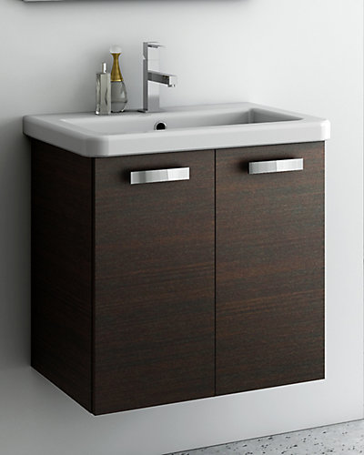 Nameeks Wenge 22in Bathroom Vanity