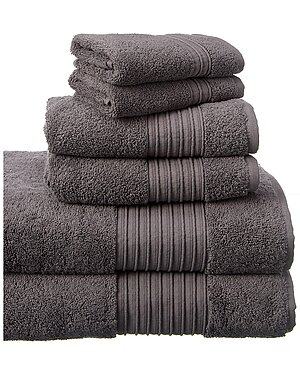Modern Threads 6pc Turkish Cotton Towel Set s seen on All Access Access Hollywood deals