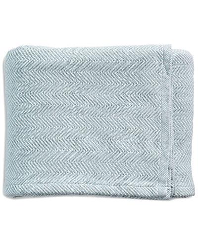 Serena & Lily Herringbone Bed Blanket