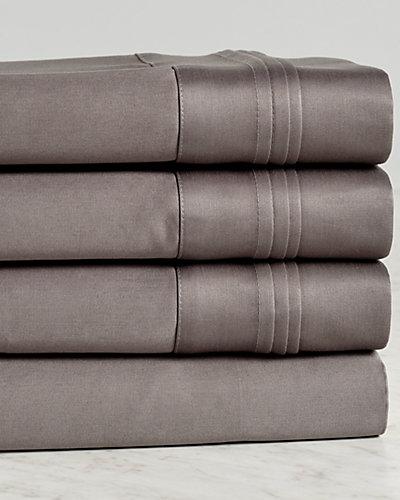 1500TC 100% Premium Long-Staple Combed Cotton Solid Sheet Set