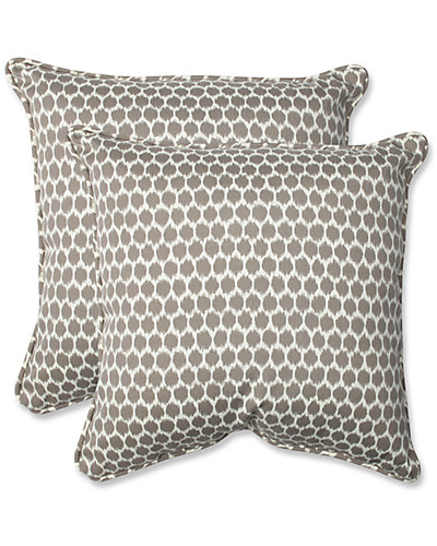 Seeing Spots Set of Two Throw Indoor/Outdoor Pillows