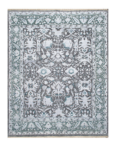 Alphonse Hand-Knotted 8 ft x 10 ft Rug