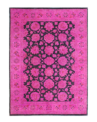 Vintage Hand-Knotted 5 ft 3 in x 6 ft 11 in Rug