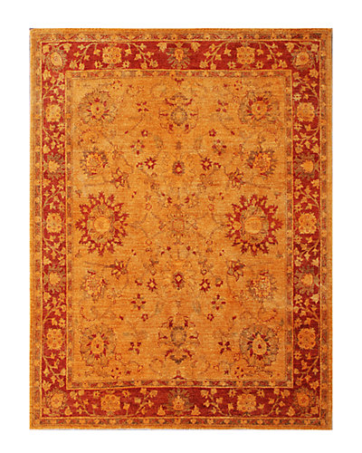 Vintage Hand-Knotted 6 ft 5 in x 8 ft 3 in Rug