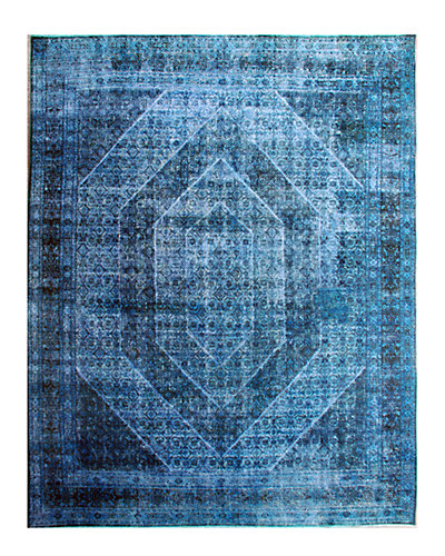 Vintage Hand-Knotted 10 in x 12 ft 6 in Rug