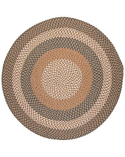 Pattern-Made Braided Rug