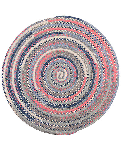 Print Party Ovals Braided Rug