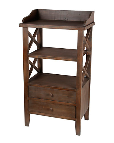 2-Drawer Accent Rack