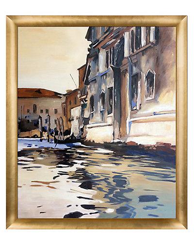 Venetian Canal Palazzo Corner 1880 by John Singer Sergent Reproduction