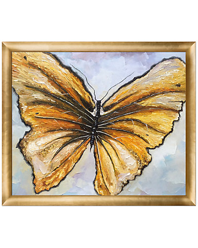 Butterfly Oil Reproduction by Susan Art