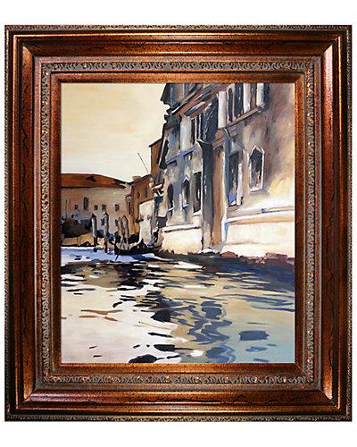 Venetian Canal, Palazzo Corner, 1880 by John Singer Sargent