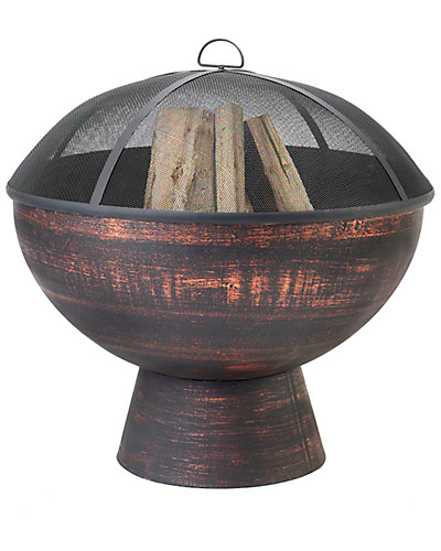 Fire Bowl with Spark Screen