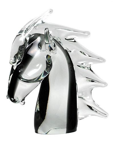 Prestigue Murano Glass Horse Head