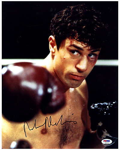 Robert Deniro Signed Raging Bull Photo by Steiner Sports