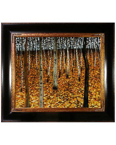Beech Forest by Gustav Klimt  Oil Reproduction