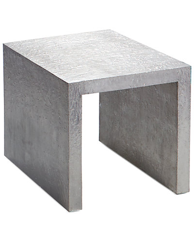Michael Aram Small Block 19in Nesting Side Table