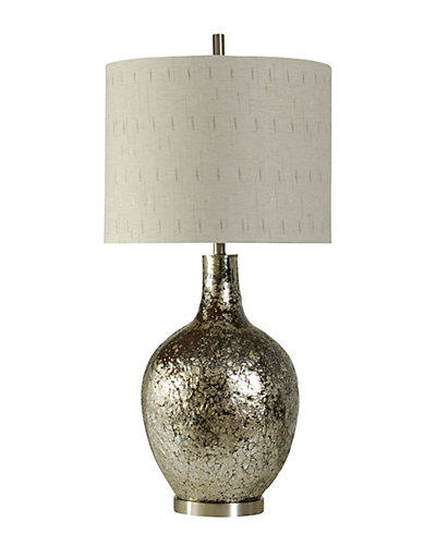 37in Textured Glass Lamp
