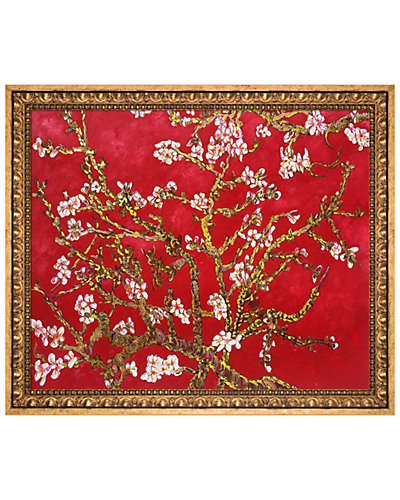 Branches of an Almond Tree in Blossom by La Pastiche Reproduction