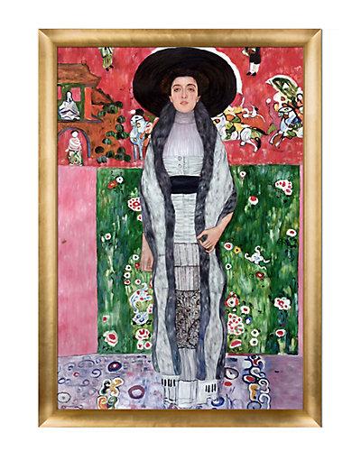 Portrait of Adele Bloch-Bauer II by Gustav Klimt Framed Hand Painted Oil Reproduction