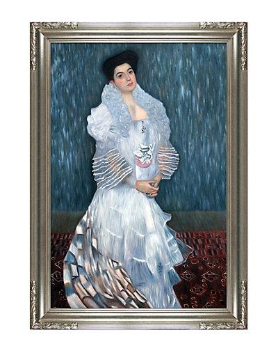 Portrait of Hermine Gallie by Gustav Klimt Oil Reproduction