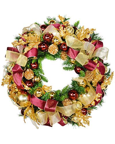 30in Evergreen Wreath