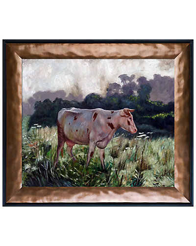 Cow by Emile Claus Oil Reproduction