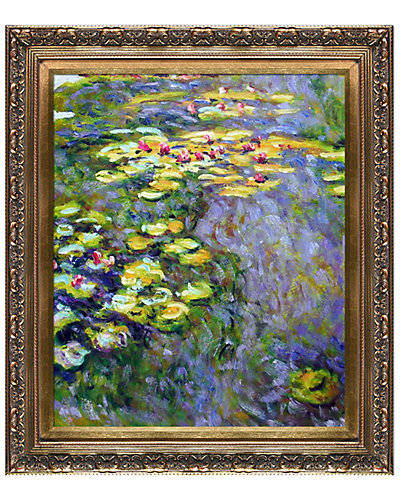 Water Lilies by Claude Monet Oil Reproduction