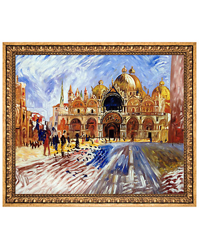 The Piazza San Marco Venice 1881 by Pierre-Auguste Renoir Oil Reproduction