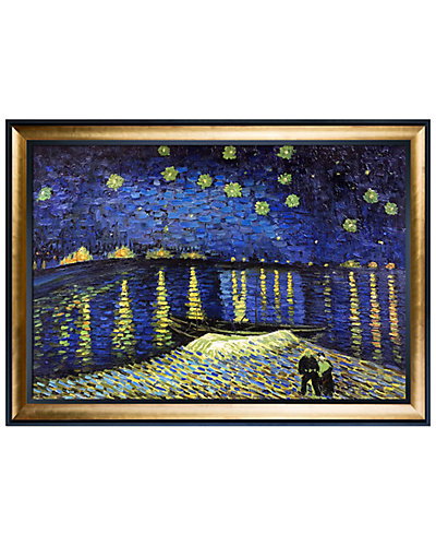 Starry Night Over the Rhone by Vincent Van Gogh Oil Reproduction