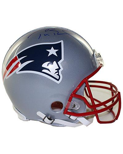 Tom Brady Signed New England Patriots VSR4 Authentic Full Size Helmet