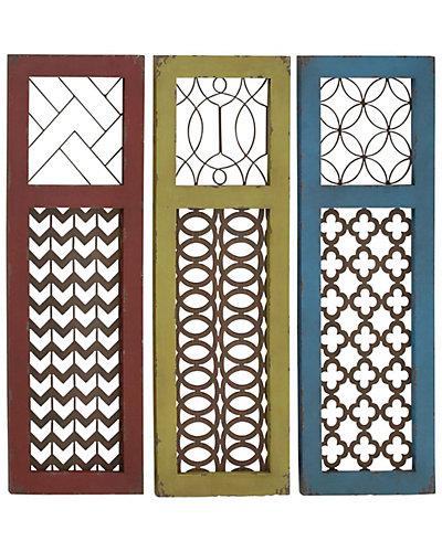 Set of 3 Wall Panels