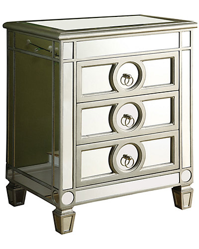 3-Drawer Accent Table
