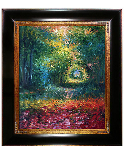 The Undergrowth in the Forest of Saint-Germain 1882 by Claude Monet Reproduction