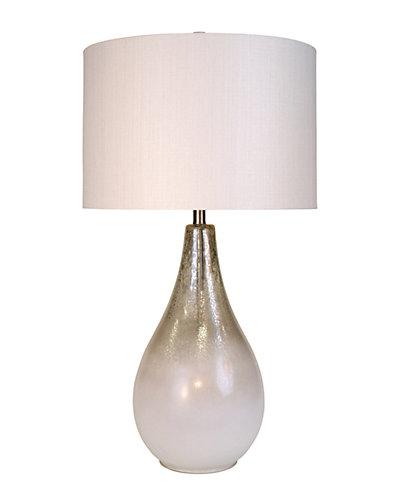 34in Glass Lamp