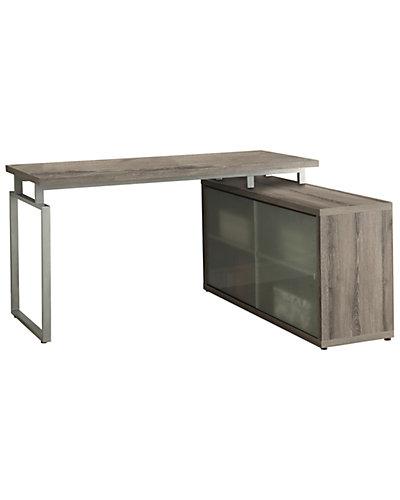 Wood L-Shaped Desk