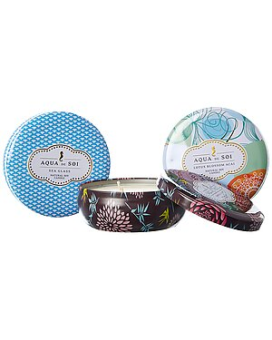 Aqua De Soi 3 Pack Candle Bundle