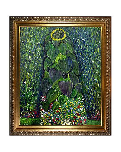 Sunflower by Gustav Klimt Oil Reproduction