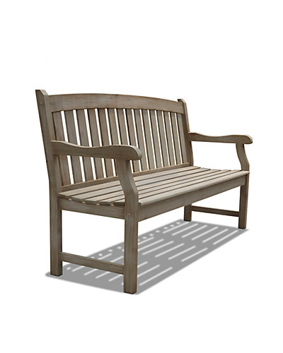 Renaissance Outdoor Hardwood Bench