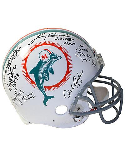 1972 Dolphins 6 Signature Authentic Helmet