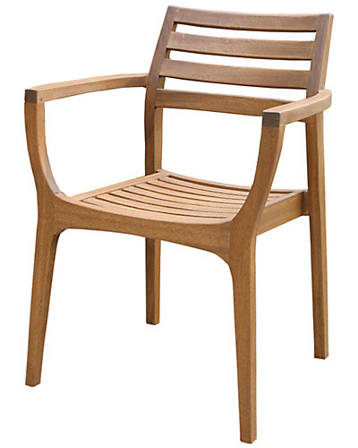 Set of Four Stacking Chairs