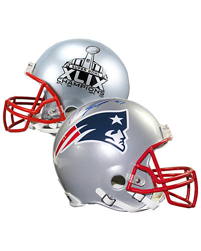 Steiner Sports Rob Gronkowski Signed New England Patriots Helmet