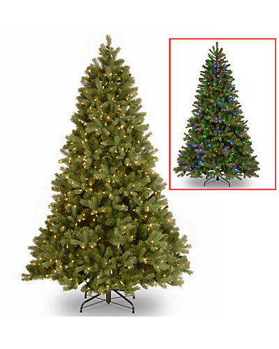 7.5ft Feel-Real Down Swept Douglas Fir Hinged Tree
