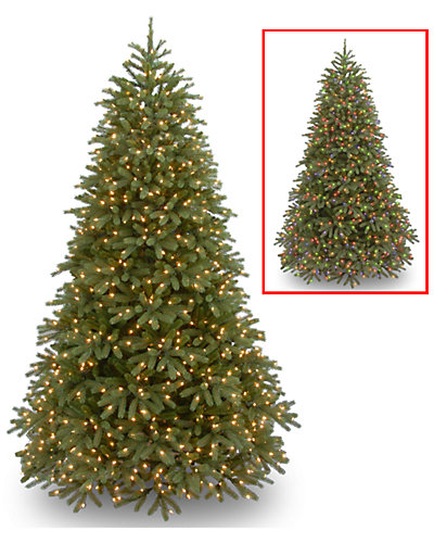 7.5ft Feel-Real Jersey Fraser Fir Medium Hinged Tree